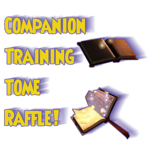 training tome giveaway