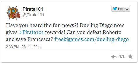Dueling Diego Tweet