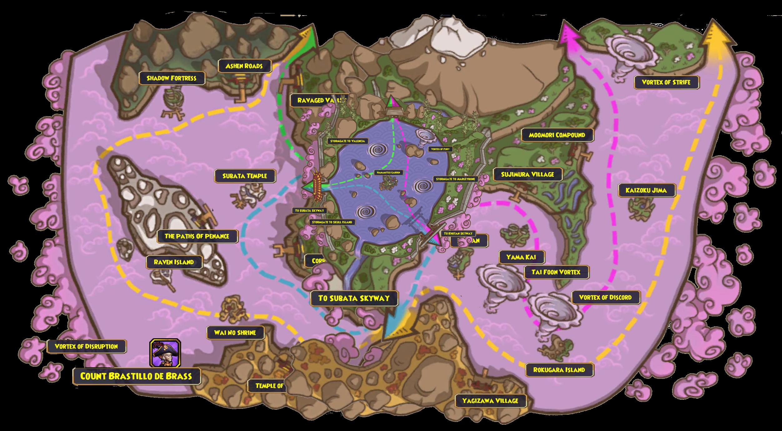 Valencia World Map